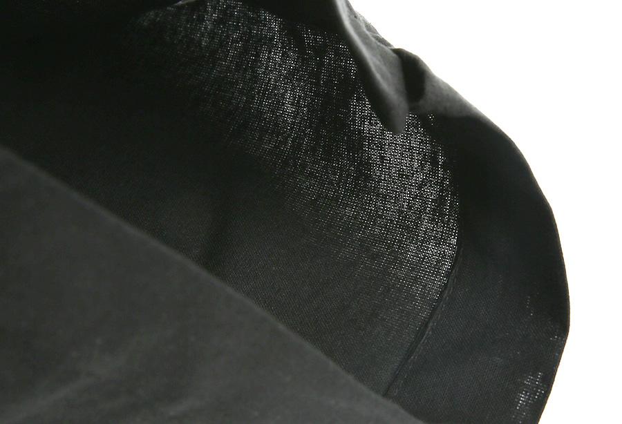 매스노운(MASSNOUN) 리넨 사이드벤트 루즈 숏팬츠 반바지 MUVSP004-BK