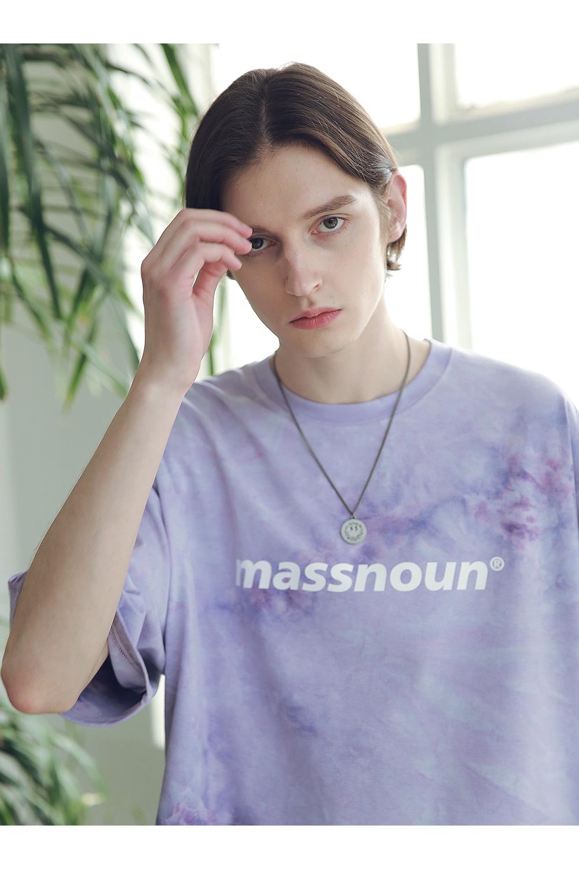 매스노운(MASSNOUN) SL 로고 SMILE 팬던트 목걸이 MSNAJ002-BS