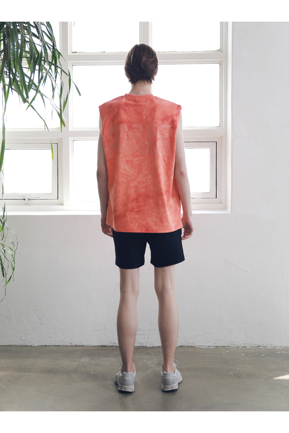 매스노운(MASSNOUN) SL LOGO BASIC SHORT PANTS MSNSP003-BK