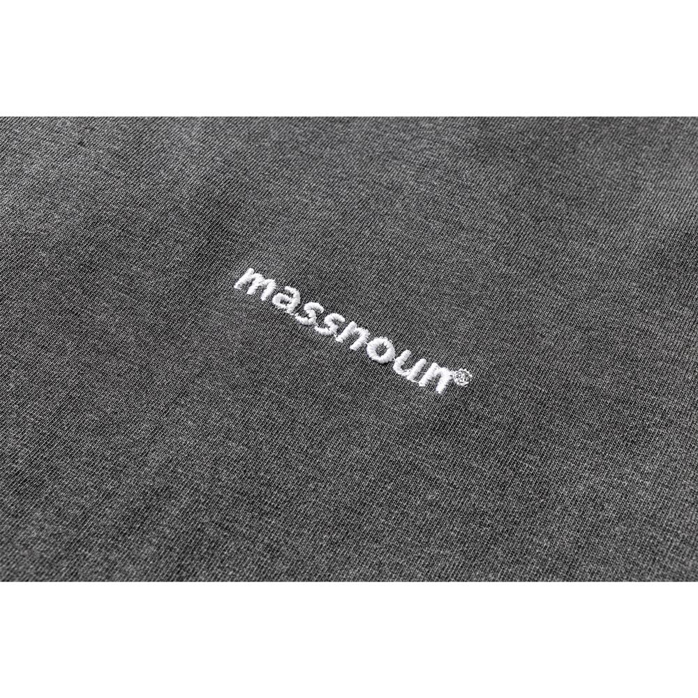 매스노운(MASSNOUN) 피그먼트 스트랩 오버사이즈 반팔티 MUZTS001-DG