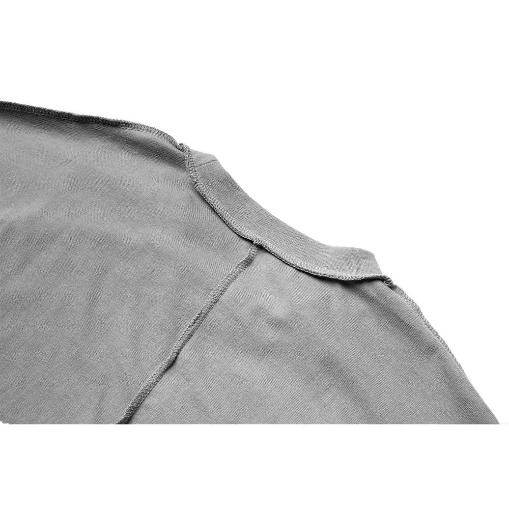 매스노운(MASSNOUN) SL로고 엣지 오버사이즈 반팔티 MUZTS002-DG